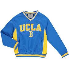 Adidas Chaqueta UCLA Azul Amarillo Grande, hecho en