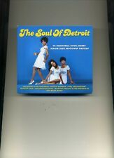 THE SOUL OF DETROIT - MARVELETTES SUPREMES MIRACLES CONTOURS - 3 CDS - NEW!!
