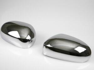 For Jaguar X-type XK XKR XJ X350 S-type Chrome Mirror Cover Door