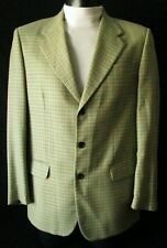 ***RENARD EXCLUSIVE GIACCA JACKET TG.48 PURA LANA fantasia pied de poule Cd.AS