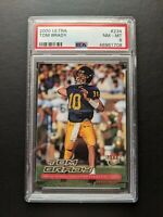 2000 Fleer Ultra Tom Brady #234 Rookie PSA 8 Goat Future HoF Patriots Bucs 🔥🔥