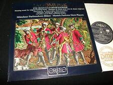 "JAGDMUSIK<>HUNTING MUSIC (HORNS)<>12"" LP Vinyl~Germany Pressing°ORFEO S034821A"