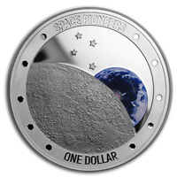 New Zealand - 2019 - 1 oz Silver Proof Coin- Space Pioneers