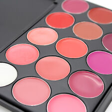 Lippenstifte Lipgloss Lipstick Lippen Palette Kosmetik Makeup-Set 15 Farben Neu