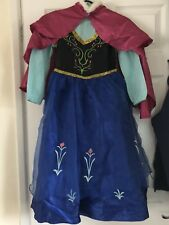 Anna dressing up fancy dress costume age 7-8 years Disney frozen