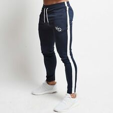 Jogging Pants Men Gym Joggers Trousers Casual Sports Slim Fit Skinny Tracksuit