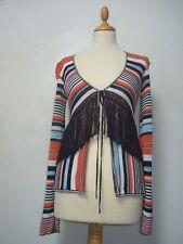 Karen Millen fringed cardigan 1/S GC
