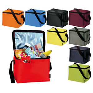 Insulated Drinks Cooler Bag Lunch Time Sandwich Cool Storage Chilled Zip Thermal