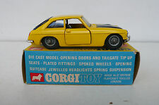 CORGI TOYS ANCIEN MGC GT  COMPETITION MODEL  R 345    BON ÉTAT  BOITE D'ORIGINE