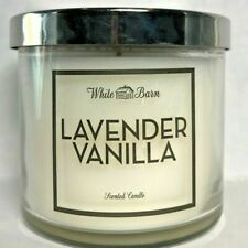 LAVENDER VANILLA ~ 4 oz. Single Wick Candle   Bath & Body Works   FREE SHIPPING