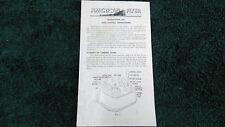 AMERICAN FLYER M3177 DUAL CONTROL 18B 30B 12B TRANSFORMER INSTRUCTION PHOTOCOPY