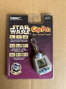 1997 STAR WARS Giga Pets R2-D2 Tiger Electronics Virtual Pet Factory Sealed R2D2