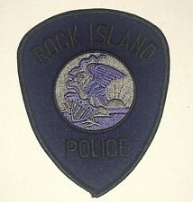 Rock Island Police Dept Shoulder Patch - Subdued - Illinois