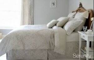 Christy Serenity Superking Bed Flat Sheet RRP: £120