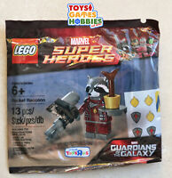 *NEW* LEGO Rocket Raccoon 5002145 Minifigure Polybag Guardians Galaxy Avengers