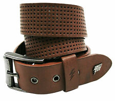 Lowlife Clyde Leather Belt in Brown Ll931-b-brown S
