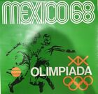 Authentic Vintage Mexico 1968 Olympic Poster Green