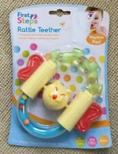 Car Shaped Teether Chew Silicone Teething Baby Toddler Hand Chew Molar Rod LC