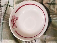 "Reddy Kilowatt Syracuse China Dessert Dish / Bowl 4 7/8"" Dia Hard To Find"