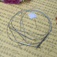 "11 pcs/1set 32"" 80cm Stainless Steel Knitting Needles Size Hot Circular W0O V1D6"
