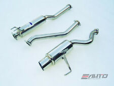 INVIDIA N1 101mm Stainless Tip Catback Exhaust for USDM Honda Civic SI 02-05 EP3