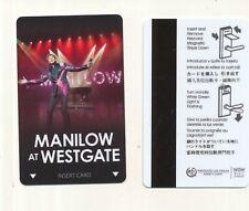 "new--WESTGATE HOTEL & CASINO-----""MANILOW""--Las Vegas,NV---------Room Key"