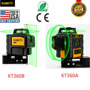 KAIWEETS 3D rotary laser level construction laser vs JOHNSON topcon US STOCK
