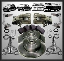 Volkswagen Golf Mk1 G60 20v Turbo 226mm Rear Brake Disc Conversion Upgrade Kit