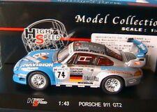 PORSCHE 911 993 GT2 #74 HIGHSPEED 1/43 LEASE PLAN 24 HEURES LE MANS PILGRIM