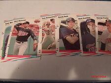 1988 1989 1990 1991 Fleer Baseball complete your set