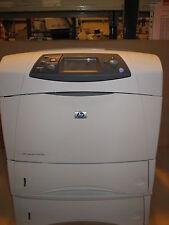 HP LaserJet 4350dtn 4350 Fast Network USB Duplex Mono Laser Printer  + Warranty