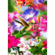 Diamond Painting Full Drill 5D DIY Picture Bird and Flower Embroidery Kit Decor
