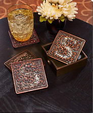 Monogrammed Gifts for Men Women The Letter S Housewarming Hostess Ideas Coasters
