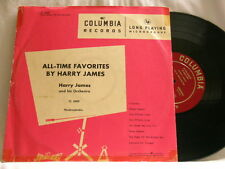 "HARRY JAMES All Time Favorites Vido Musso Columbia CL 6009 10"" LP"