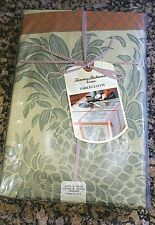 Tommy Bahama Pineapple Jacquard Tablecloth 60 x 84 Oblong NEW Pkg Tropical