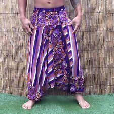 Boho Beach Festival Hippy hippie Baggy yoga Harem Pants Trousers Jumpsuit Floral