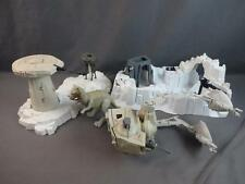 Vintage Star Wars ESB Lot Turret & Probot Imperial Attack Base AT-ST Tauntaun