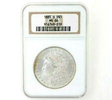 1885-O US Morgan Silver Dollar NGC MS66 NICE COIN