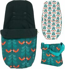 Brand new Cosatto giggle bundle accessory pack changing bag footmuff Fox Friends