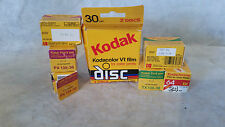 Kodak Expired Film Lot, 1985,86,90 Tri-x Pan, Kodachrome, Plus-x Pan