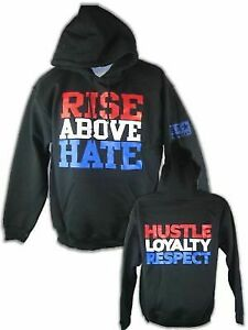 John Cena Rise Above Hate Pullover Hoody Sweatshirt New