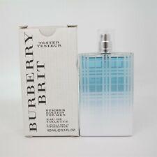 BURBERRY BRIT SUMMER for Men by Burberry 100 ml/3.3 oz Eau de Toilette Spray (T)