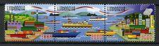 Indonesia 2017 MNH Maritime Ports 100 Yrs Republic 3v Set Boats Ships Stamps
