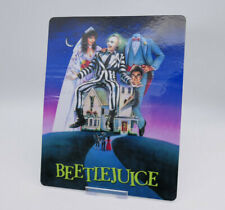 BEETLEJUICE tim burton - Glossy Bluray Steelbook Magnet Cover (NOT LENTICULAR)