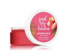 Bath & Body Works PINK LILY & BAMBOO Shower Jelly ~ 8 Oz