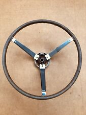 1967 67 Original GTO LeMans Tempest Firebird Or Pontiac Big Car Sport Wood Wheel
