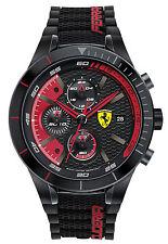 Scuderia FERRARI RED REV EVO Uomo-Cronografo Chrono 0830260