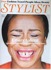 *NEW* STYLIST MAGAZINE 10 JUNE 2015 UZO ADUBA, DIANNA AGRON BRYCE DALLAS HOWARD