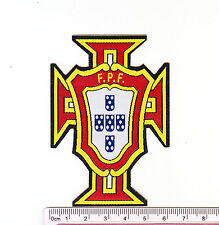 kiTki Portugal soccer team football iron-on embroidered patch emblem applique