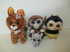 ty Beanie Boos - Kipper the Kangaroo, Coconut the Monkey and Sting the Bee